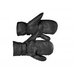 Trójpalczaste skórzane rękawiczki Horze