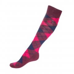 Podkolanówki Horze Alana Checked Winter Socks